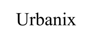 mark for URBANIX, trademark #85866519