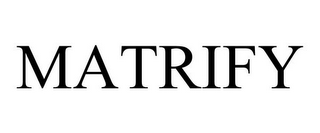 mark for MATRIFY, trademark #85866612
