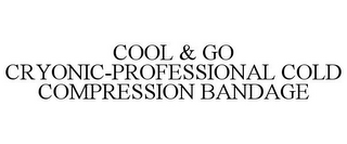 mark for COOL & GO CRYONIC-PROFESSIONAL COLD COMPRESSION BANDAGE, trademark #85866641
