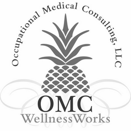mark for OCCUPATIONAL MEDICAL CONSULTING, LLC OMC WELLNESS WORKS, trademark #85866662