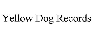 mark for YELLOW DOG RECORDS, trademark #85866902