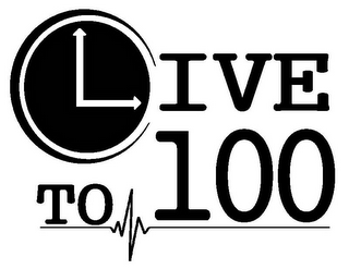 mark for LIVE TO 100, trademark #85866935