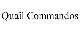mark for QUAIL COMMANDOS, trademark #85866976