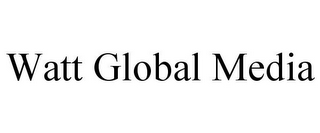 mark for WATT GLOBAL MEDIA, trademark #85867002