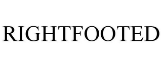 mark for RIGHTFOOTED, trademark #85867098