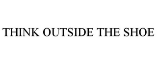 mark for THINK OUTSIDE THE SHOE, trademark #85867100