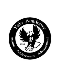 mark for YALE ACADEMY ACTION ACHIEVEMENT ADVANCEMENT 1995 D A, trademark #85867169
