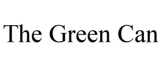 mark for THE GREEN CAN, trademark #85867220