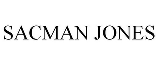 mark for SACMAN JONES, trademark #85867250