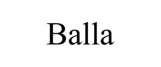 mark for BALLA, trademark #85867270