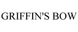 mark for GRIFFIN'S BOW, trademark #85867392