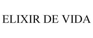 mark for ELIXIR DE VIDA, trademark #85867654
