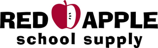 mark for RED APPLE SCHOOL SUPPLY, trademark #85867713