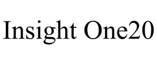 mark for INSIGHT ONE20, trademark #85867721
