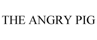 mark for THE ANGRY PIG, trademark #85867736