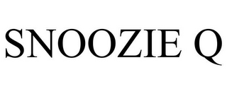 mark for SNOOZIE Q, trademark #85867880