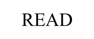 mark for READ, trademark #85867953
