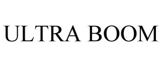mark for ULTRA BOOM, trademark #85868006