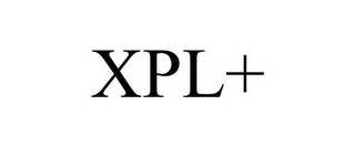 mark for XPL+, trademark #85868088