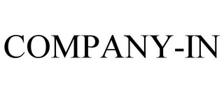 mark for COMPANY-IN, trademark #85868256