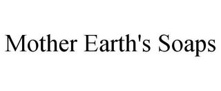 mark for MOTHER EARTH'S SOAPS, trademark #85868375