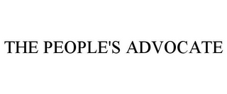 mark for THE PEOPLE'S ADVOCATE, trademark #85868472