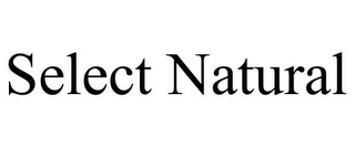 mark for SELECT NATURAL, trademark #85868496