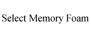 mark for SELECT MEMORY FOAM, trademark #85868506