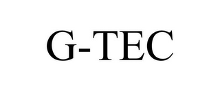 mark for G-TEC, trademark #85868515