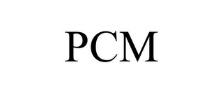 mark for PCM, trademark #85868682