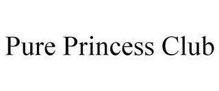 mark for PURE PRINCESS CLUB, trademark #85868739