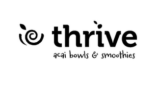 mark for THRIVE ACAI BOWLS & SMOOTHIES, trademark #85868980