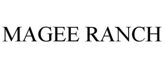 mark for MAGEE RANCH, trademark #85869006