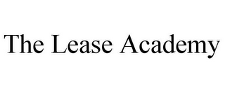 mark for THE LEASE ACADEMY, trademark #85869046