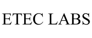 mark for ETEC LABS, trademark #85869363