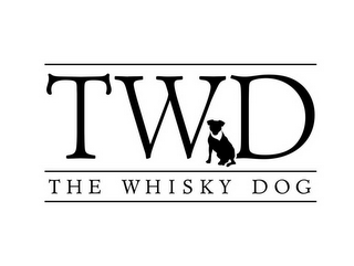 mark for TWD THE WHISKY DOG, trademark #85869601