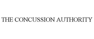 mark for THE CONCUSSION AUTHORITY, trademark #85869616