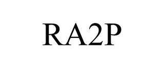 mark for RA2P, trademark #85870158