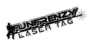 mark for FUNFRENZY LASER TAG, trademark #85870160