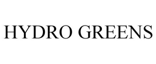 mark for HYDRO GREENS, trademark #85870255
