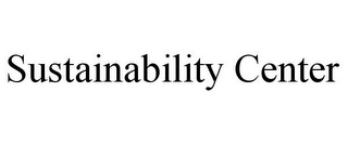 mark for SUSTAINABILITY CENTER, trademark #85870796