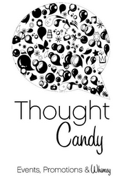 mark for THOUGHT CANDY EVENTS, PROMOTIONS & WHIMSY, trademark #85870802