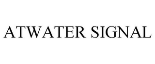 mark for ATWATER SIGNAL, trademark #85870942