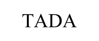 mark for TADA, trademark #85871258