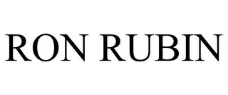 mark for RON RUBIN, trademark #85871432