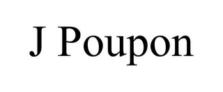 mark for J POUPON, trademark #85871443