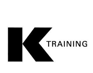 mark for K TRAINING, trademark #85871629