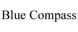 mark for BLUE COMPASS, trademark #85871697