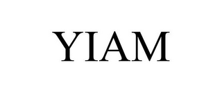 mark for YIAM, trademark #85871816