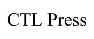 mark for CTL PRESS, trademark #85871884